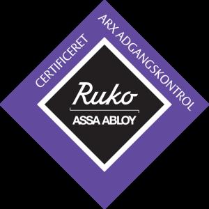 Ruko_Certificeret_ARX_adgangskontrol_10x10cm